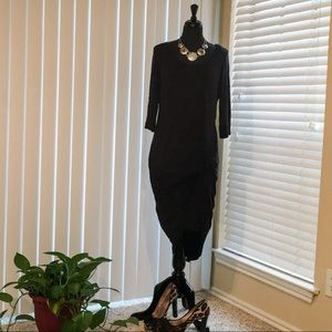 FTF side knot dress NWOT